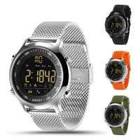 EX18 montre intelligente Sport Smartwach Bluetooth Smartwatch pour Android IOS longue durée en veille étanche podomètre appel SNS rappel