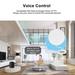Image 5 - チュウヤスマート無線 Lan 漏水センサー漏水侵入検出器オーバーフロー警報と互換性 Alexa Google ホーム IFTTT チュウヤ