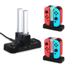 Portable Charging Dock Station Gamepad Charger Desk Tablet JoyStick For Nintendo Switch Joy-Con & Pro Controller