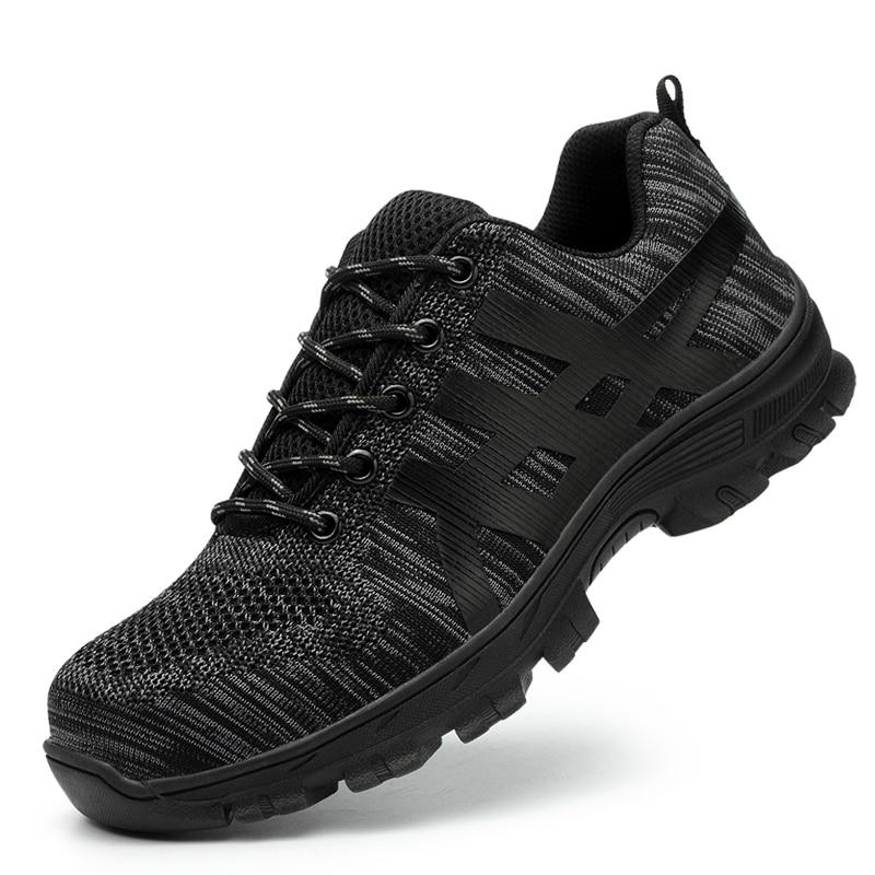 malha sapatos de luz dos homens sapatilha