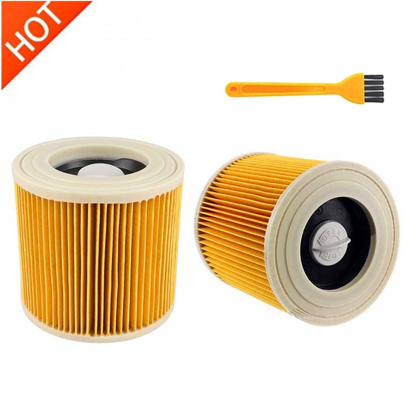 Filtros de poeira de ar de substituição sacos para karcher aspiradores peças cartucho filtro hepa wd2250 wd3.200 mv2 mv3 wd3