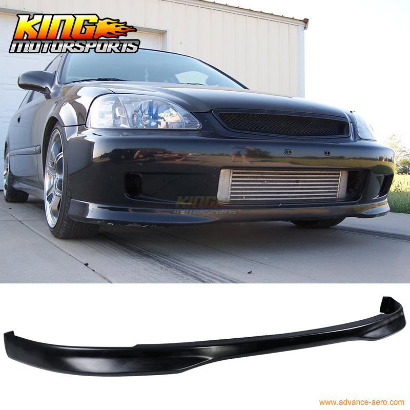 Front Bumper Cover Compatible with 2001-2003 Honda Civic Primed Coupe//Sedan