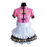 Anime LoveLive SunShine Aqours Mijyuku Chika Kanan Watanabe Ruby Yoshiko Hanamaru Riko Dia Mari Cosplay Costume Cheongsam Outfit