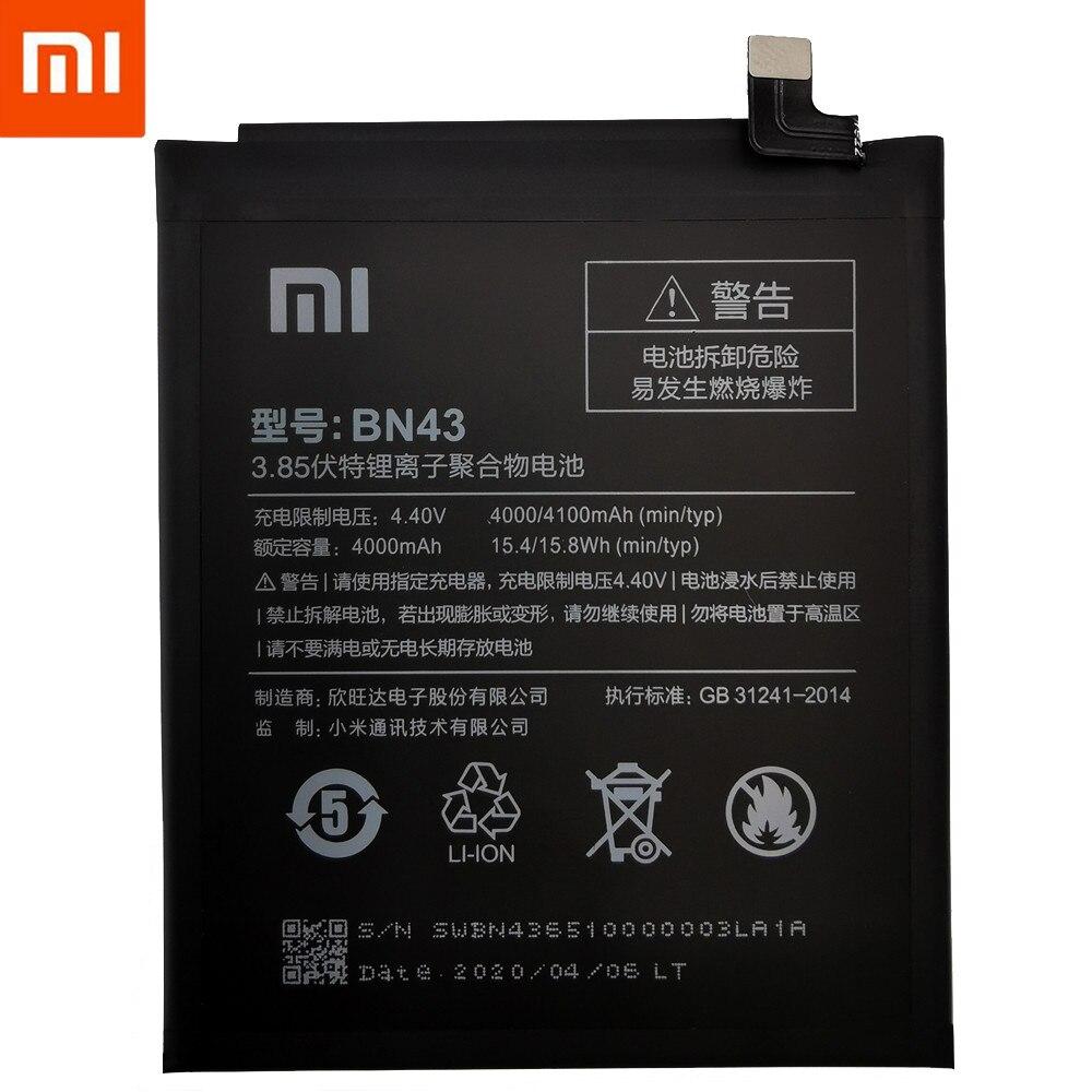 Original XiaoMi Replacement Battery For Xiaomi Mi Redmi Note Mix 2 3 3S 3X 4 4X 4A 4C 5 5A 5S 5X M5 6 6A 7 8 Pro Plus batteries 2