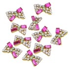 10Pcs 3D Crystal Rhi...