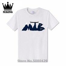 Hipster tops MTB Streetwear aeróbico ciclismo Camisetas Camiseta de bicicleta de montaña camiseta Vintage corazón cadena jinete regalos T camisas para hombres