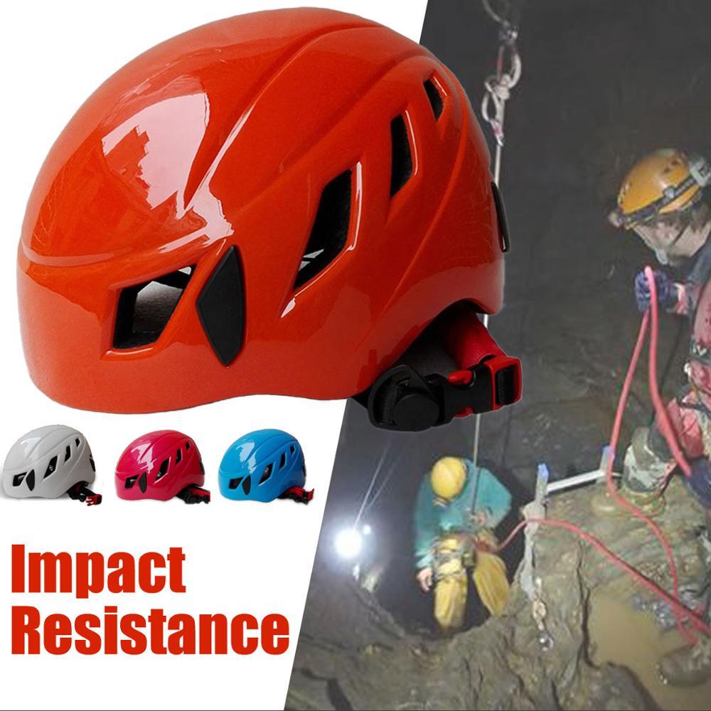 Outdoor Unisex Climbing Safety Helmet Hard Hat Construction Work Riot Helmet Rescue Construction Work Helmet