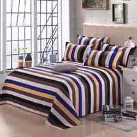 Sábana + funda de almohada decorativa marca sábanas de algodón 100% textil Para el hogar sábana de cama nuevo patrón Protector de cama