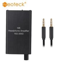 Neoteck 16-300Ohm Portátil Fone de Ouvido Fone De Ouvido de Alta Fidelidade Amplificador de Dois-fase ganho interruptor Aux No Porto para o Telefone Portátil de Música Android