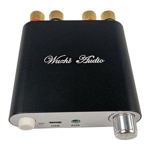 Image 3 - ZK 1002D 블루투스 5.0 무선 스테레오 오디오 전력 증폭기 보드 TPA3116D2 100W + 100W 자동차 앰프 Amplificador 홈 시어터 AUX USB