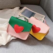 Korean Kids Mini Handbags Cute Sequins Baby Zero Wallet Pouch Girls Crossbody Bags