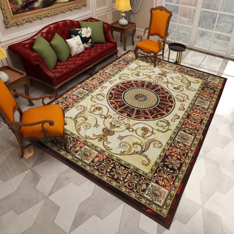 Nordique géométrique tapis salon chambre étude tête de lit rectangulaire tapis moderne décor maison tapis canapé Yoga 3D couverture tapis - 2