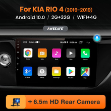 AWESAFE PX9 for KIA RIO 4 2016 2017 2018 2019 Car Radio Multimedia video player GPS No 2 din Android 10.0 2GB+32GB