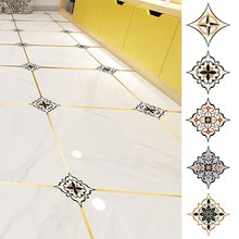 36pcs tile diagonal sticker living room decals bathroom waterproof