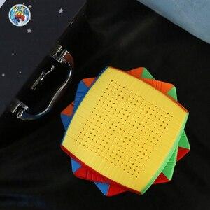 Image 5 - Shengshou Cubo de velocidad mágica Twist de 17x17x17 de 123mm, juguete educativo de aprendizaje para niños, Cubo mágico de 17x17