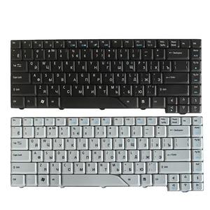Image 1 - Nowy rosyjski klawiatura dla Acer Aspire 5715 5715Z 5720G 5720Z 5720ZG 5910G 5920G 5920ZG 5950G RU klawiatury laptopa czarny/biały