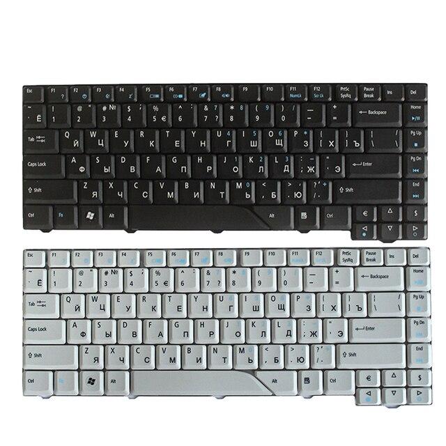 Nowy rosyjski klawiatura dla Acer Aspire 5715 5715Z 5720G 5720Z 5720ZG 5910G 5920G 5920ZG 5950G RU klawiatury laptopa czarny/biały