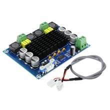 Xh-M543 High Power Digital Power Amplifier Board Tpa3116D2 Audio Amplifier Module Dual Channel 2*120W 1 pcs 100 w mono digital power amplifier board tpa3116d2 digital audio amplifier board 12 26 v