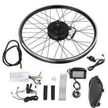 36V 500W 26 Inch Electric Bicycle Conversion Hub Engine Brushless Motor Wheel Kit with LCD Meter E-bike Bicycle Motor Kit(China)