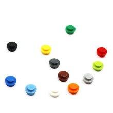 Строительные блоки MOC, детали для кирпича, круглые, 1x1, форма лампы, сделай сам, сборка, маленькие частицы, пластина 4073 6141