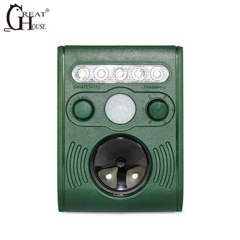 Great house ultrasonic pest  repeller outdoor pigeons and bat repellent device