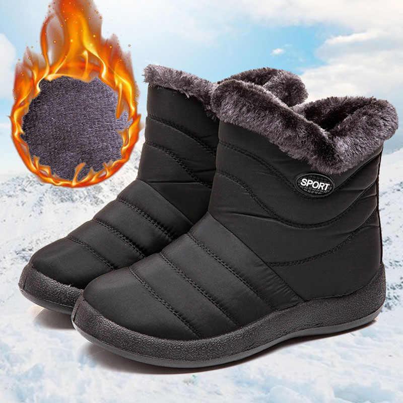 REETENE Hot Sale Women Snow Boots Non