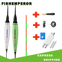 Bobber Fishing-Float-Set Electric-Float-Light Battery Electrons LED