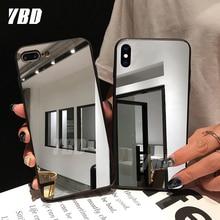 YBD жесткий зеркальный чехол для huawei P20 Lite P30 P10 lite P Smart защитный чехол для huawei mate 10 20 Lite чехол Funda Coque