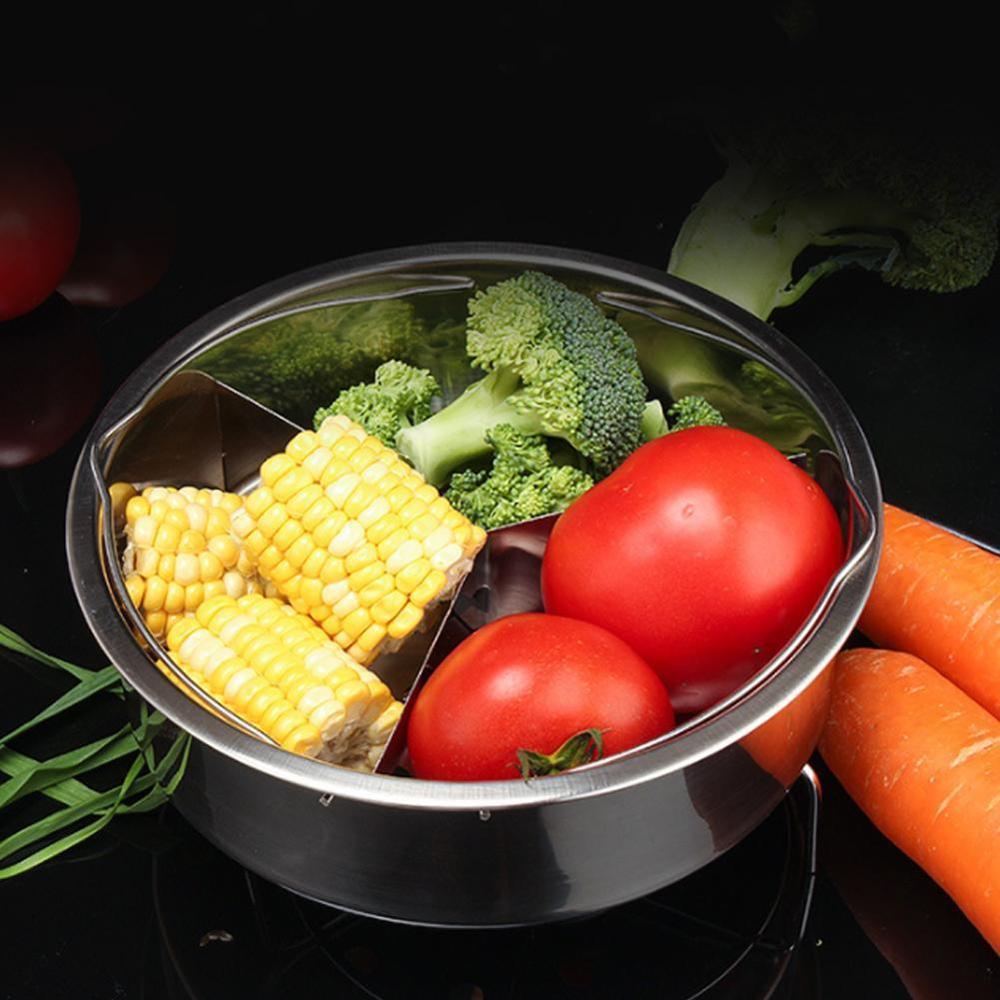 Stainless Steel Steamer With Egg Dispenser Steamer Rack Suitable For Instant Pot Rice Cooker Steam Grid Multi-Function