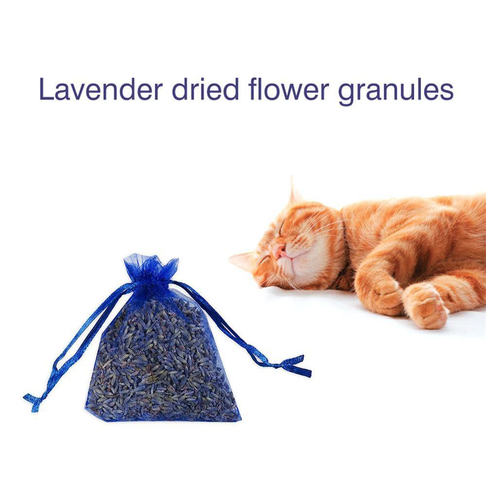 1Pcs Real Lavender Organic Dried Flowers Sachets Buds Bag Fragrance Air Fresher Car Home Decor Car Inside Supplies