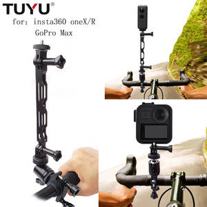 TUYU Aluminum-Alloy Bike-Stand Insta360 Motorcycle One-X-Camera-Accessories