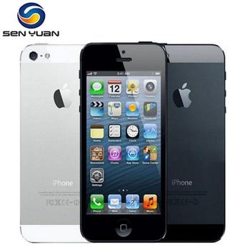 "Unlocked Original Apple iPhone 5 Used 95% New GSM 3G Mobile Phone 16GB 32GB 64GB ROM Wifi 8MP 4.0"" IOS Cellphone 1"