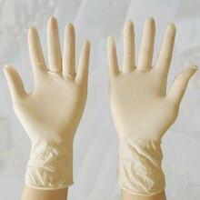 100шт одноразовые латексные медицинские перчатки для чистки универсальный домашний еда, крем безопасности