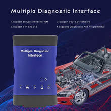 MDI MDI2 Mehrere Diagnose Interface USB WIFI Für GM V 2019,04 OBD 2 OBD2 Auto Diagnose Auto Werkzeug Software GDS2 und Tech2Win