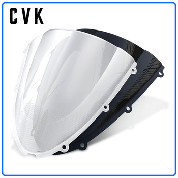 цена на CVK Motorcycle Windshield Windscreen Air Wind Deflector For KAWASAKI ZX6R 2005 2006 2008 ZX10R 2007 2008 ZX 6R 05 08 10R 07 08