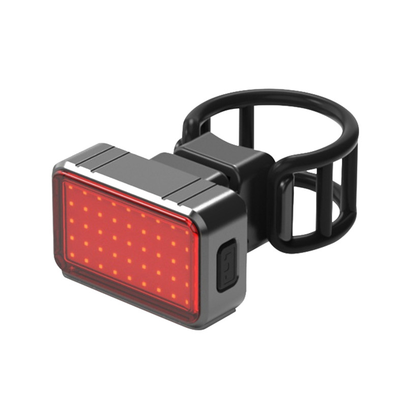Bicycle Light USB Charge Led Bike Light Flash Tail Rear Bicycle Lights Seatpost 100LM Waterproof USB COB+28 LED Riding Light