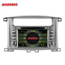 "Marubox 7A112PX5 DSP, אנדרואיד 10, נגן מולטימדיה לרכב עבור טויוטה לנד קרוזר 2002 2007, ראש יחידה 8 ליבה, 7 ""שב""ס מסך, 64GB"