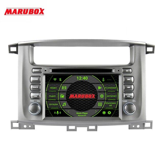 """Marubox 7A112PX5 Dsp, Android 10, Auto Multimedia Speler Voor Toyota Land Cruiser 2002 2007, hoofd Unit 8 Core, 7 """"Ips Scherm, 64Gb"""