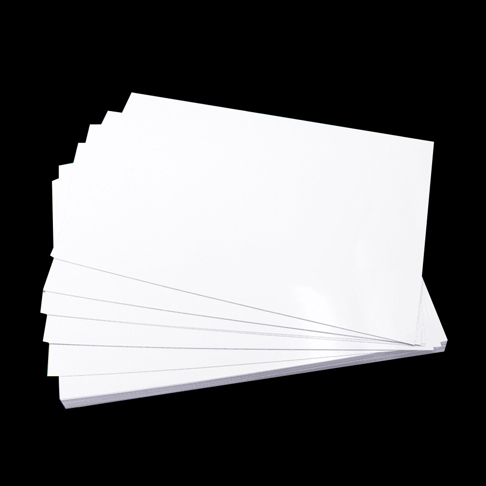 A4 Double Sided Gloss Coated Paper Printing Paper For Menu Picture Inkjet Multi Purpose Quick Dry Smooth Durable