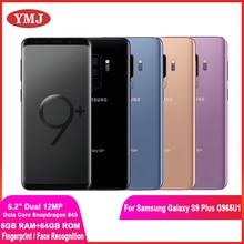Samsung Galaxy S9 + S9 плюс G965U G965U1 разблокированный 4G Android мобильный телефон Восьмиядерный процессор Snapdragon 845 6,2
