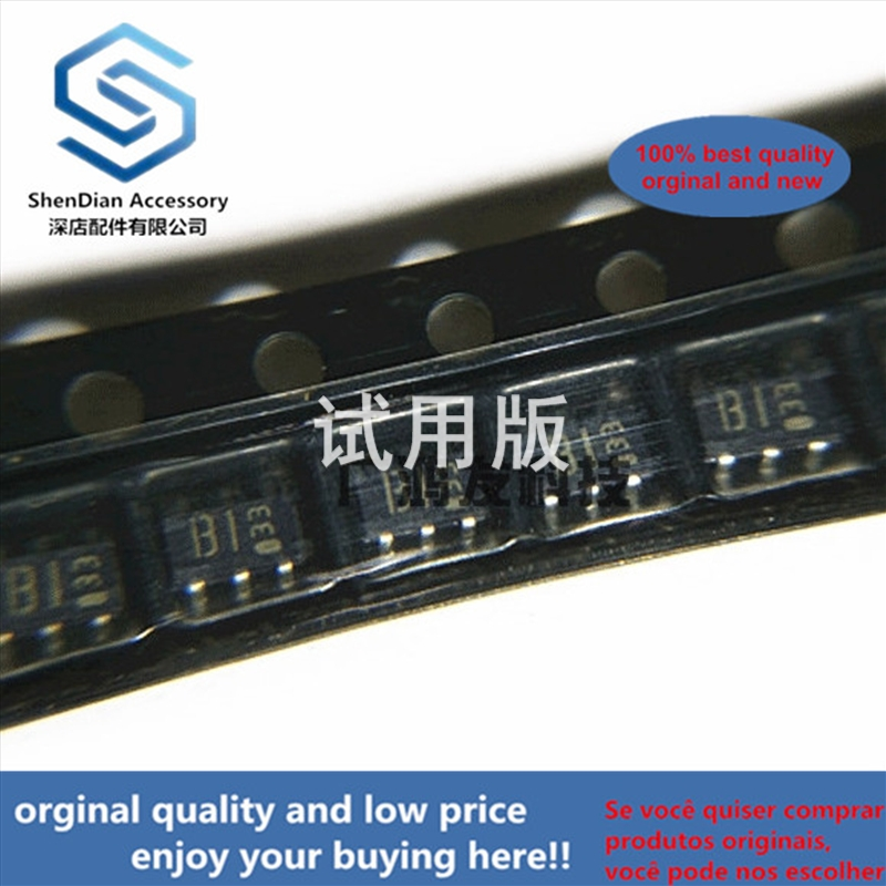 10pcs 100% Orginal New IMB1A T110 Dual PNP Composite Band-stop Transistor SOT-163 SOT23-6