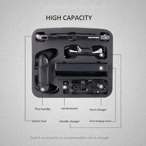 Image 4 - Чехол для путешествий, Жесткий Чехол, сумка для хранения для консоли Nintendo Switch и аксессуаров с 21 игровым картриджем
