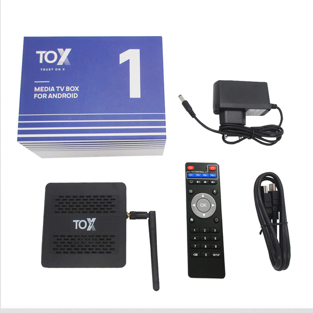 2021 TOX1 Amlogic S905X3 Smart Android 9.0 TV Box 4GB RAM 32GB ROM 2.4G 5G WiFi Bluetooth 1000M LAN USB 3.0 4K HD Set top Box 6