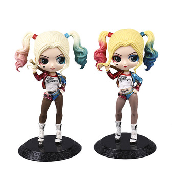 цена на 16cm Action Figure Harleen Quinzel PVC Anime Figure Collectible Model Toy Decorative ornaments Christmas gift for children