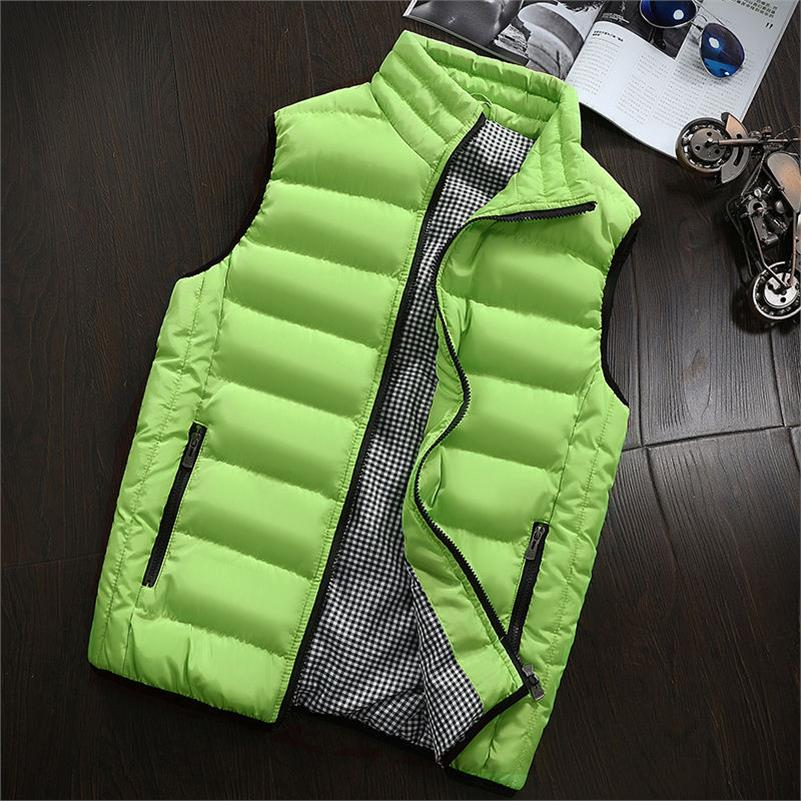 Lusumily Casual Vest Women Autumn Winter Jackets Thick Vests Sleeveless Coats Female Warm Cotton-Padded Waistcoat Plus Size 5XL