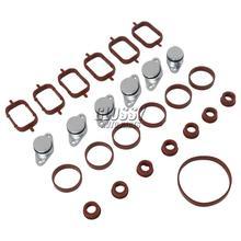 AP03 6*22mm Intake Manifold Reparação Kit conjunto Para BMW E87 E38 E39 E46 E60 aba Redemoinho E61 E90 E91 E92 X5 E70 X3 X6 11612246945