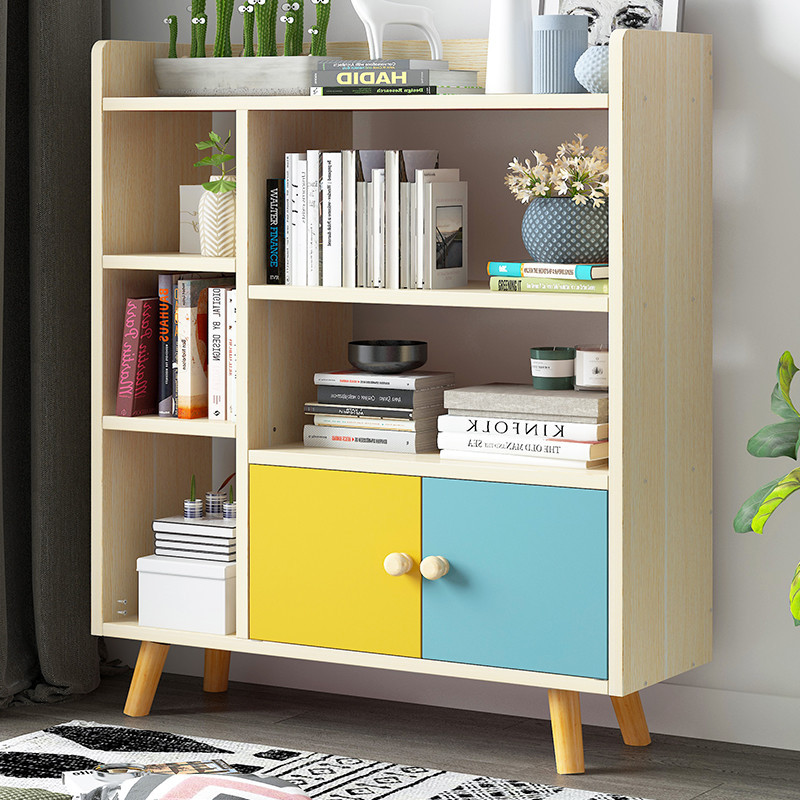 On Behalf Of Simple Bookcase Combination Household Multifunctional Shelf Minimalist Modern Province Space Students Bookcase