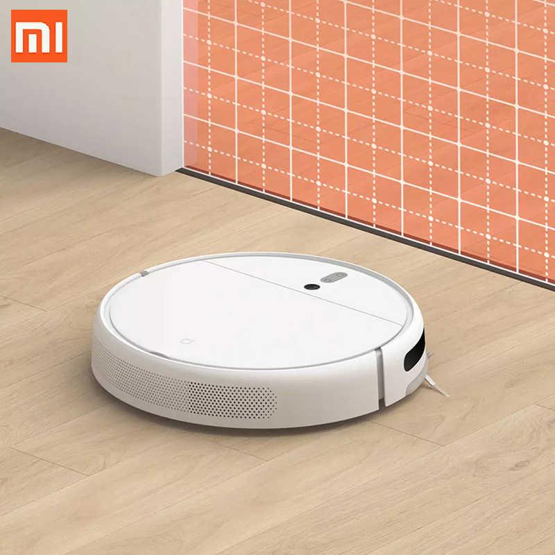Xiaomi MI Robot süpürge 1C paspas süpürme MI robotik akıllı planlı tip WIFI App kontrol otomatik şarj için ev