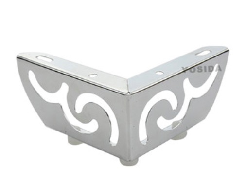 4Pieces/Lot H:51MM Hollow Flower Pattern Feet Sofa Fittings Legs Furniture Cabinet Bed Foot
