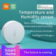 Xiaomi Norma Mijia Intelligente Sensore di Umidità di Temperatura Ambiente Intelligente Sensore di lavoro di collegamento con Mi Home gateway Zigbee 2